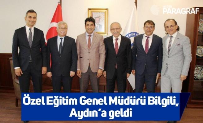 Özel Eğitim Genel Müdürü Bilgili, Aydın'a geldi