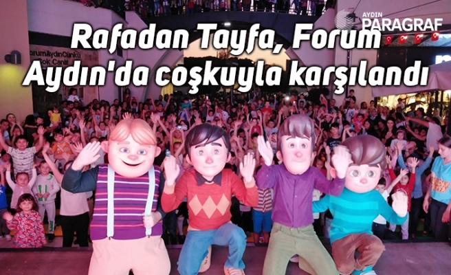 Rafadan Tayfa, Forum Aydın'da coşkuyla karşılandı