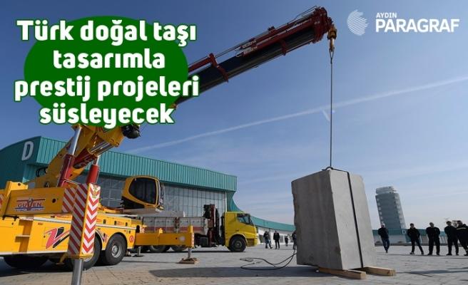 Türk doğal taşı tasarımla prestij projeleri süsleyecek