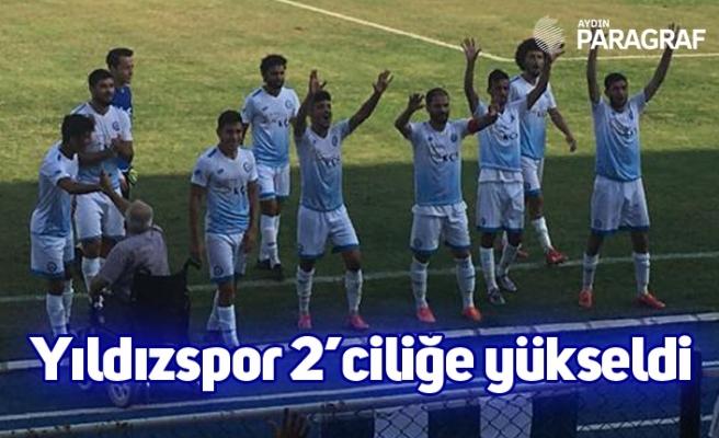 Yıldızspor 2'ciliğe yükseldi