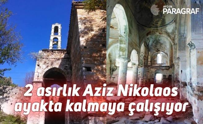 2 asırlık Aziz Nikolaos ayakta kalmaya çalışıyor