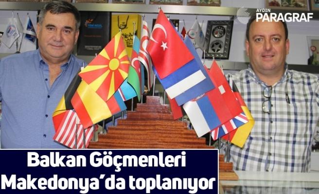 Balkan Göçmenleri Makedonya'da toplanıyor