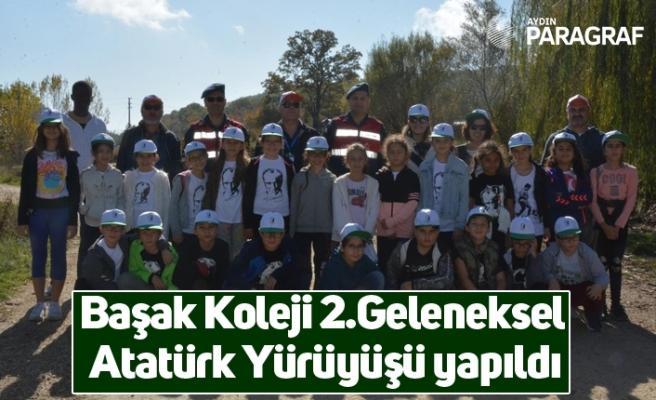 Başak Koleji 2.Geleneksel Atatürk Yürüyüşü yapıldı