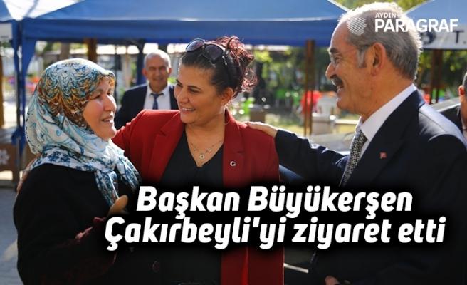 Başkan Büyükerşen Çakırbeyli'yi ziyaret etti