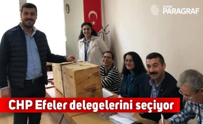CHP Efeler delegelerini seçiyor
