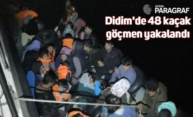Didim'de 48 kaçak göçmen yakalandı