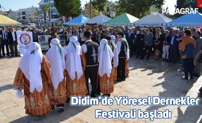 Didim'de Yöresel Dernekler Festivali başladı