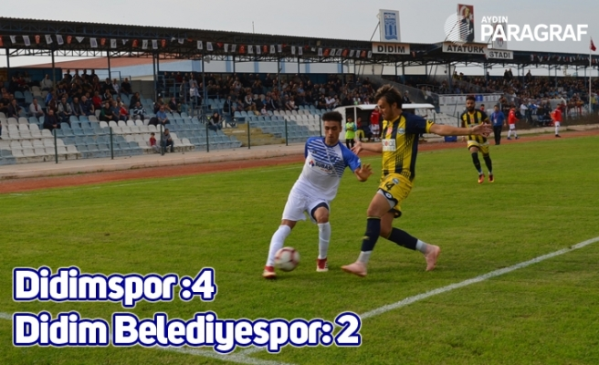 Didimspor :4 Didim Belediyespor: 2