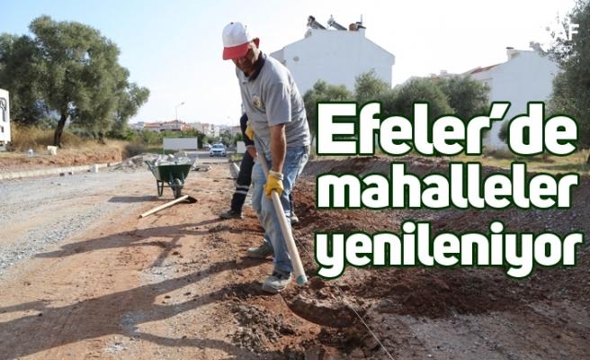 Efeler'de mahalleler yenileniyor