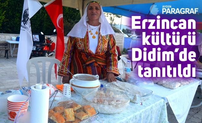 Erzincan kültürü Didim'de tanıtıldı