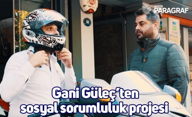 Gani Güleç'ten sosyal sorumluluk projesi