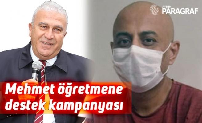 Mehmet öğretmene destek kampanyası