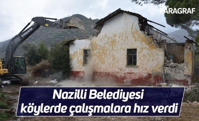 Nazilli Belediyesi köylerde çalışmalara hız verdi