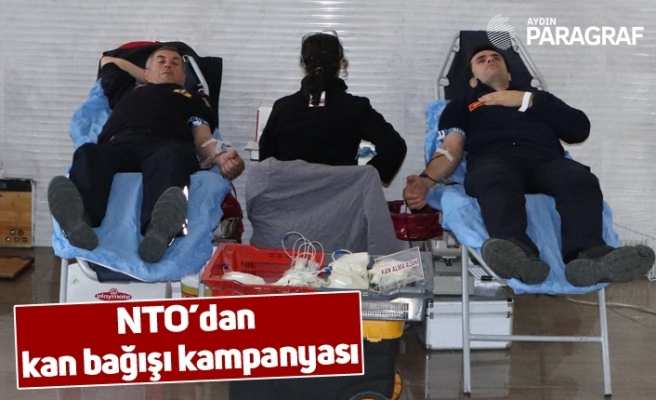 NTO'dan kan bağışı kampanyası