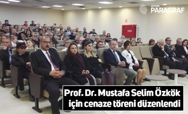 Prof. Dr. Mustafa Selim Özkök için cenaze töreni düzenlendi