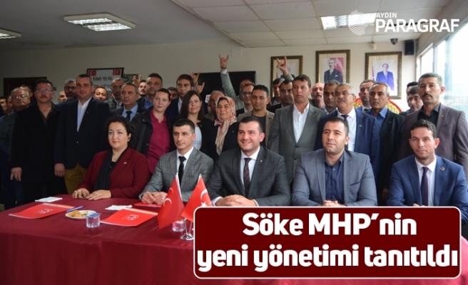 Söke MHP'nin yeni yönetimi tanıtıldı