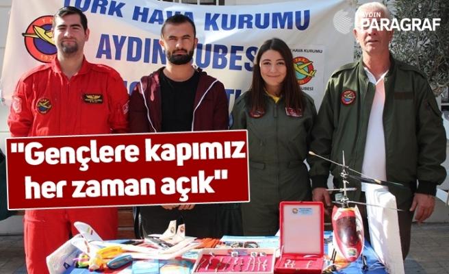 """THK Aydın Şube Başkanı Saldırış; """"Gençlere kapımız her zaman açık"""""""
