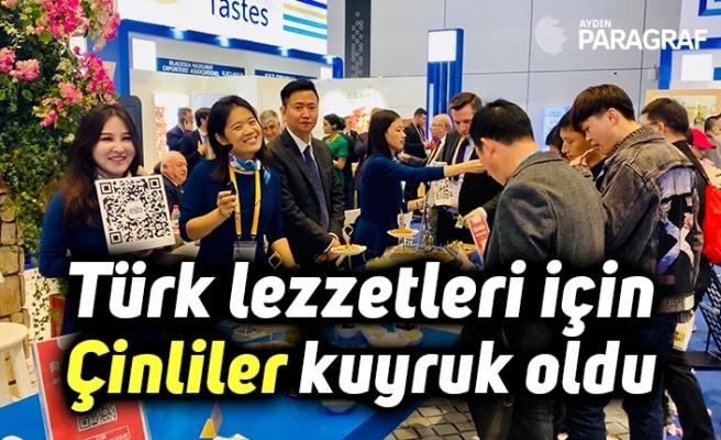 Türk lezzetleri için Çinliler kuyruk oldu