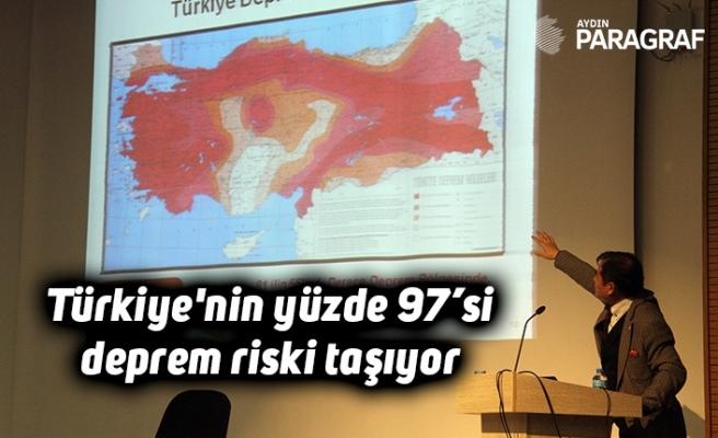 Türkiye'nin yüzde 97'si deprem riski taşıyor