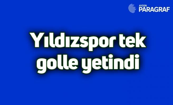 Yıldızspor tek golle yetindi