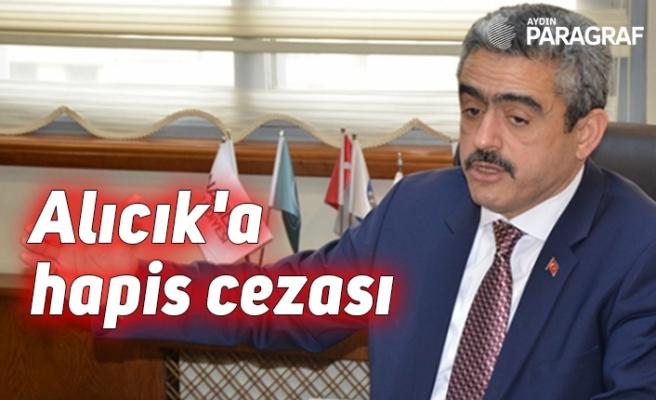 Alıcık'a hapis cezası
