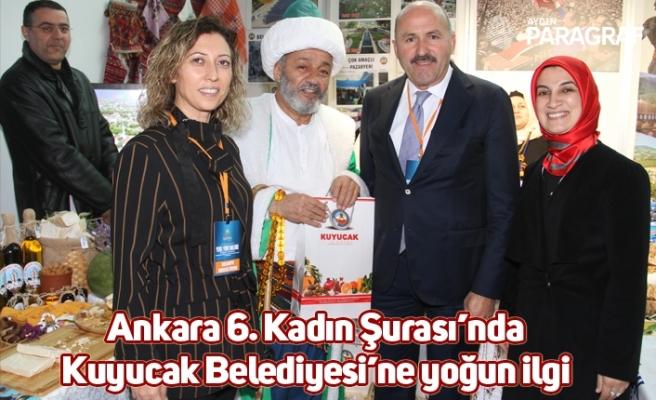 Ankara 6. Kadın Şurası'nda Kuyucak Belediyesi'ne yoğun ilgi