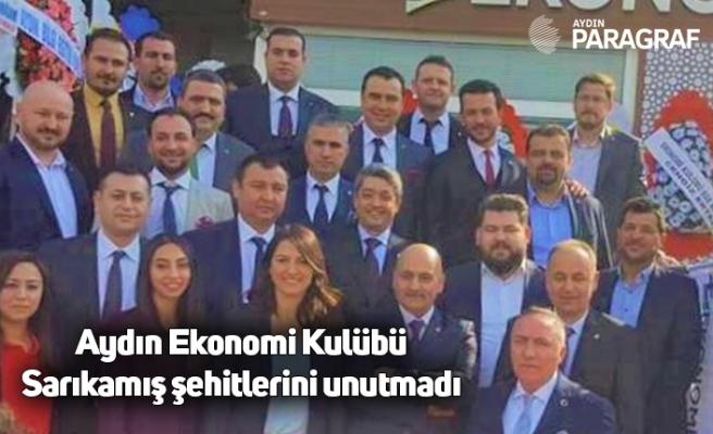 Aydın Ekonomi Kulübü Sarıkamış şehitlerini unutmadı