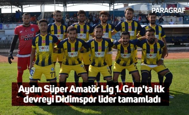 Aydın Süper Amatör Lig 1. Grup'ta ilk devreyi Didimspor lider tamamladı