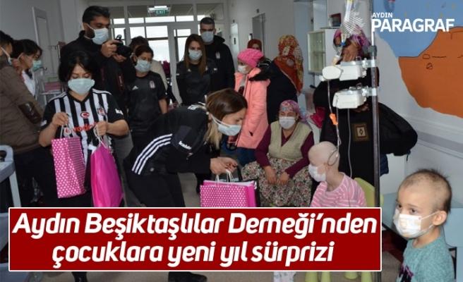Aydın Beşiktaşlılar Derneği'nden çocuklara yeni yıl sürprizi