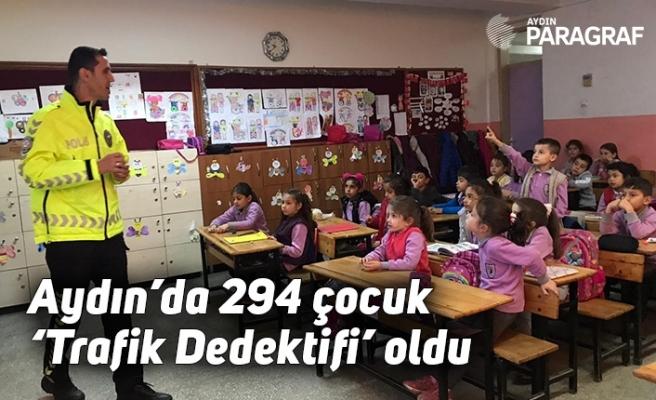 Aydın'da 294 çocuk 'Trafik Dedektifi' oldu