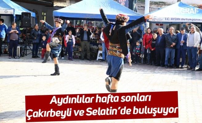 Aydınlılar hafta sonları Çakırbeyli ve Selatin'de buluşuyor