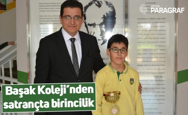 Başak Koleji'nden satrançta birincilik