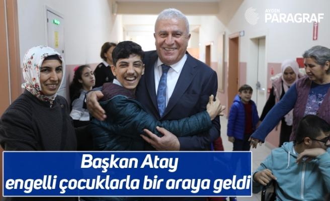 Başkan Atay engelli çocuklarla bir araya geldi