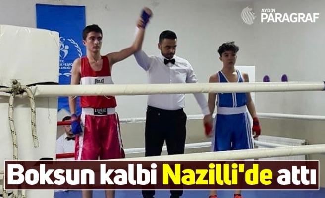 Boksun kalbi Nazilli'de attı