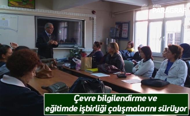 Çevre bilgilendirme ve eğitimde işbirliği çalışmalarını sürüyor