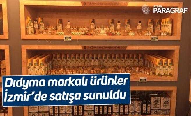Dıdyma markalı ürünler İzmir'de satışa sunuldu