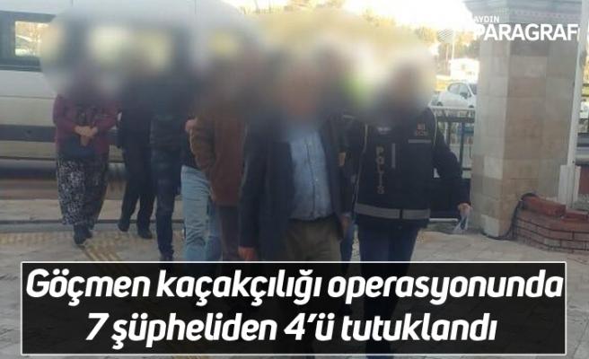 Göçmen kaçakçılığı operasyonunda 7 şüpheliden 4'ü tutuklandı