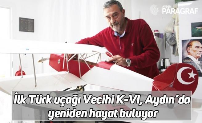 İlk Türk uçağı Vecihi K-VI, Aydın'da yeniden hayat buluyor