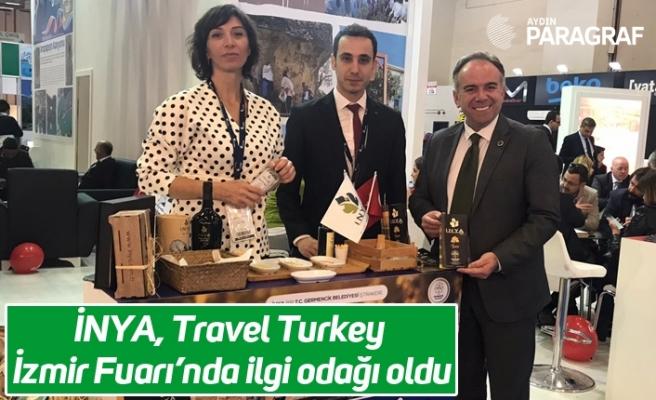 İNYA, Travel Turkey İzmir Fuarı'nda ilgi odağı oldu