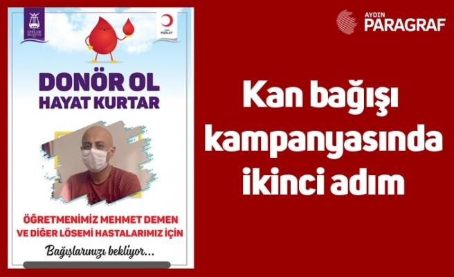 Kan bağışı kampanyasında ikinci adım