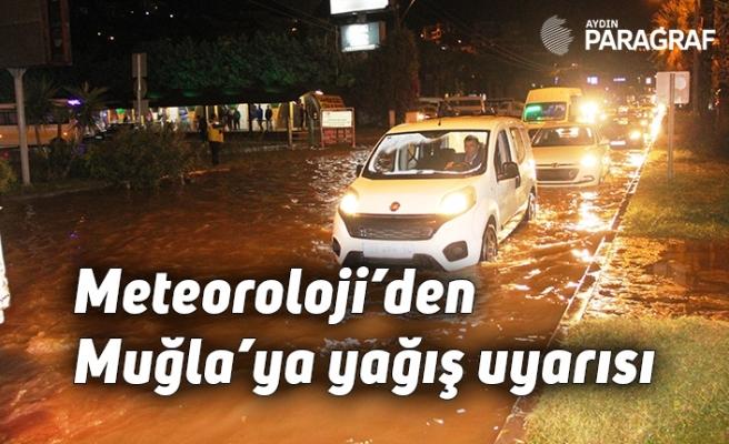 Meteoroloji'den Muğla'ya yağış uyarısı