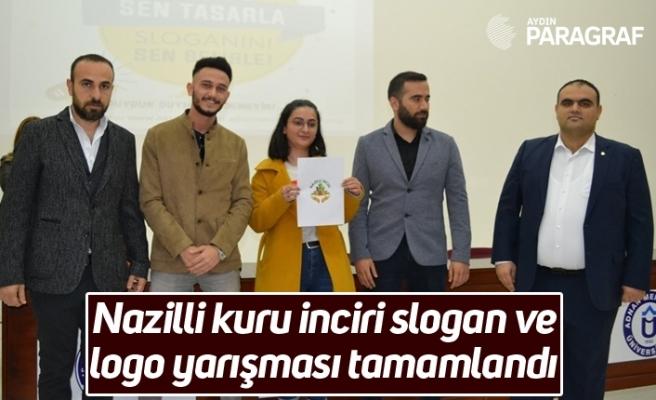 Nazilli kuru inciri slogan ve logo yarışması tamamlandı