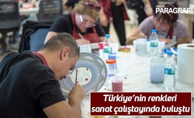 Türkiye'nin renkleri sanat çalıştayında buluştu