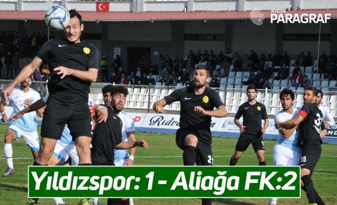 Yıldızspor: 1 - Aliağa FK:2