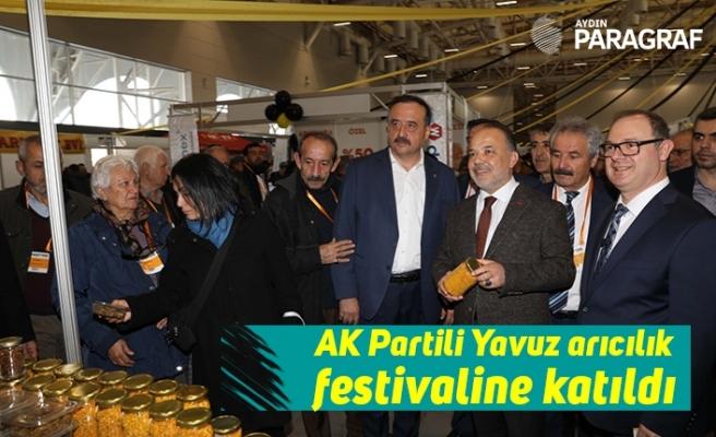 AK Partili Yavuz arıcılık festivaline katıldı