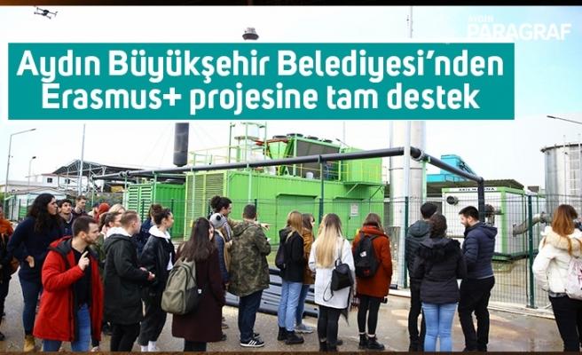 Aydın Büyükşehir Belediyesi'nden Erasmus+ projesine tam destek