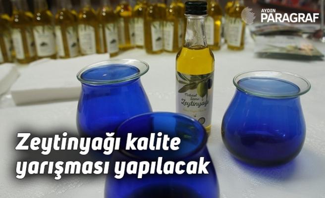 Aydın Tarım Fuarında zeytinyağı kalite yarışması yapılacak