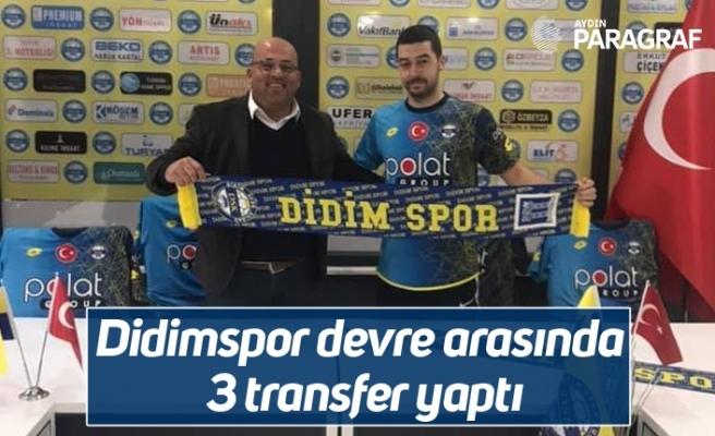 Didimspor devre arasında 3 transfer yaptı