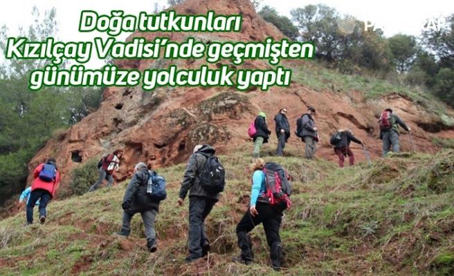 Doğa tutkunları Kızılçay Vadisi'nde geçmişten günümüze yolculuk yaptı