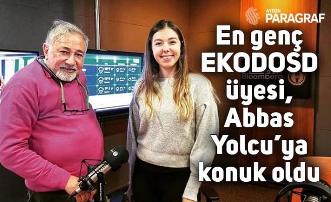 En genç EKODOSD üyesi, Abbas Yolcu'ya konuk oldu